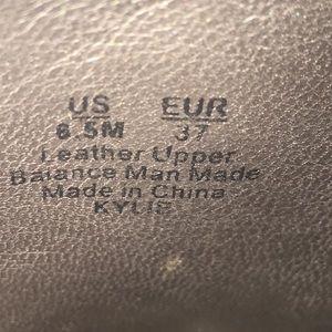 Sam Edelman Shoes - Kylie Open Toe Platform Leather Wedge Mule